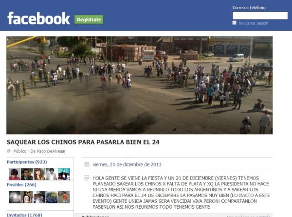 Facebook Saqueos_3