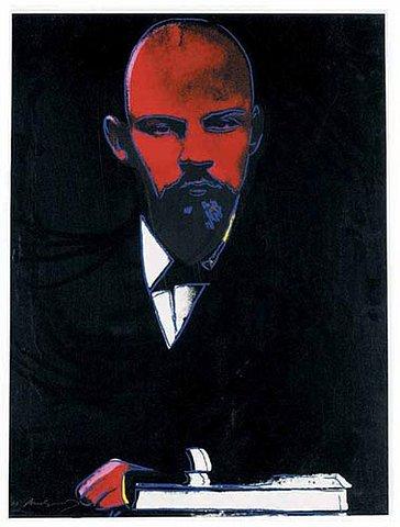 Lenin Warhol Black